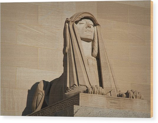 The House Of The Temple Sphinx #2 Wood Print