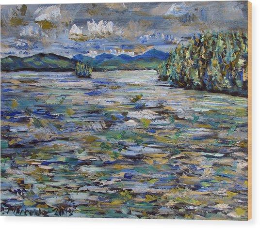 The Islands Off Canaras Wood Print