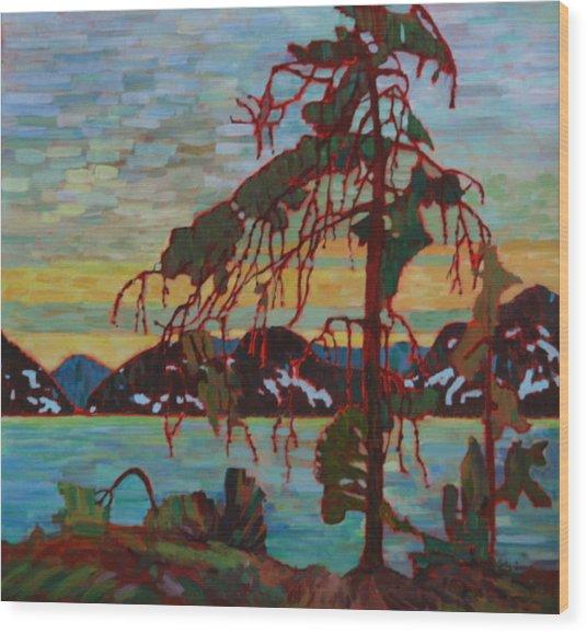 The Jack Pine After Tom Thomson Wood Print