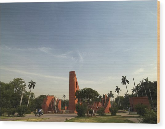 The Jantar Mantar Complex Wood Print