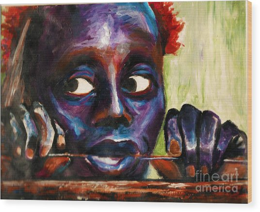 The Jarawa Tribe Wood Print