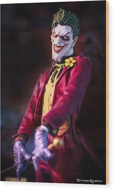 Wood Print featuring the photograph The Joker Dummy by Stwayne Keubrick