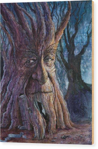 The Key Wood Print