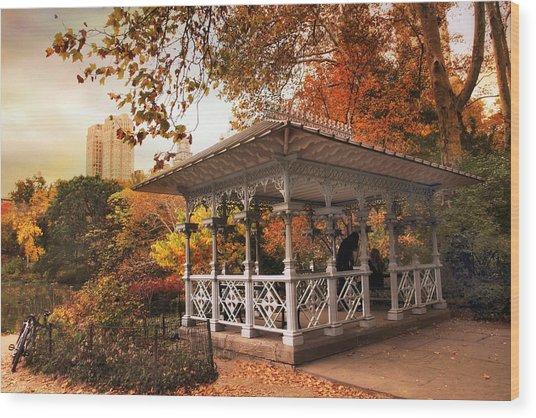 The Ladies Pavilion Wood Print