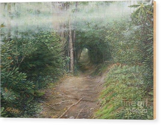 The Laurel Hells Wood Print