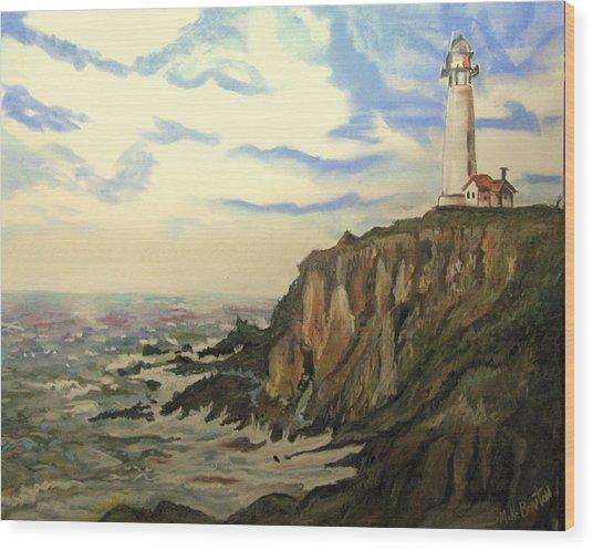 The Lighthouse. Wood Print