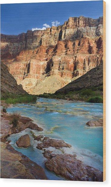 The Little Colorado  Wood Print