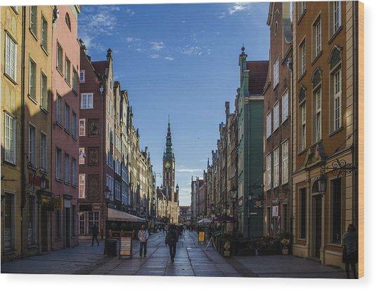 The Long Lane In Gdansk Photograph By Adam Budziarek