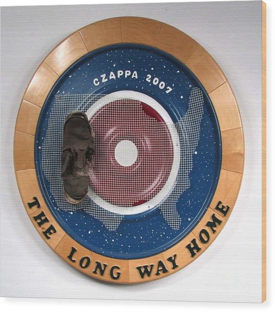 The Long Way Home  #27 Wood Print by Bill Czappa