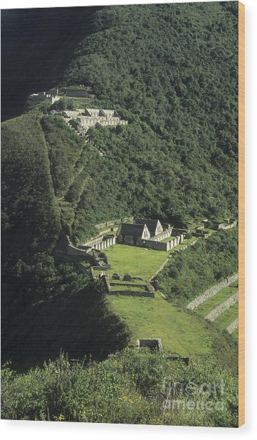 The Lost City Of Choquequirao Wood Print
