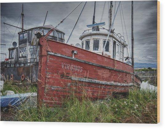 The Lost Fleet Virginis Wood Print