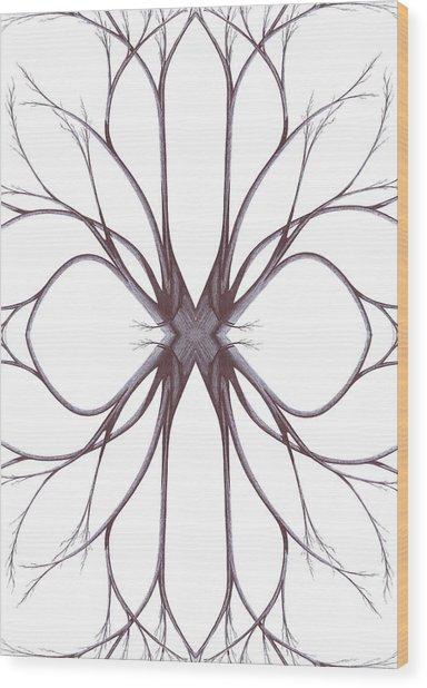 The Magic Of Nature Wood Print