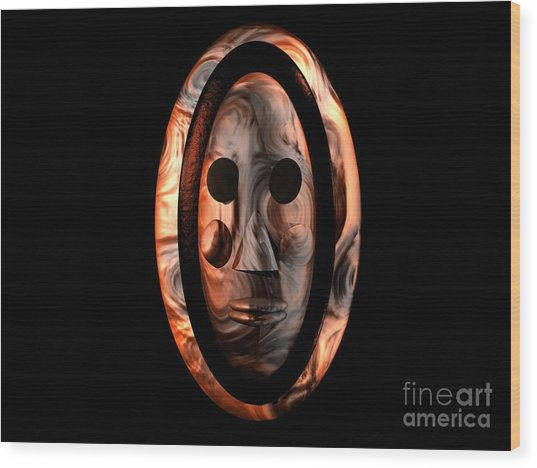 The Mask Series 1 Wood Print