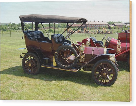 The Mercer Touring Sedan Wood Print