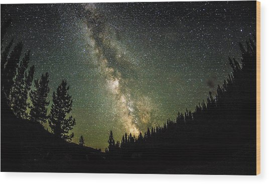 The Milky Way 001 Wood Print