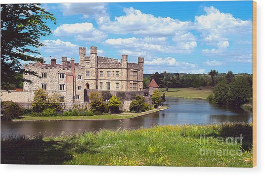 The Most Romantic Castle In England Wood Print