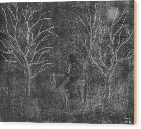 The Myrtles Wood Print by Sean Mitchell