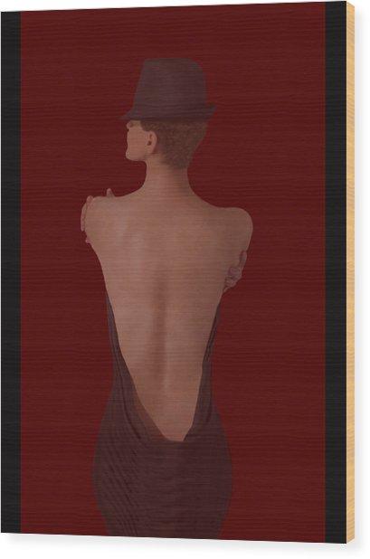 Ultimate Sensual Elegance #3  Wood Print