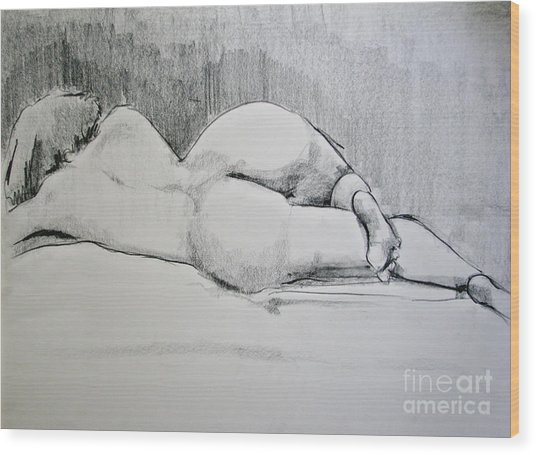The Nap Wood Print
