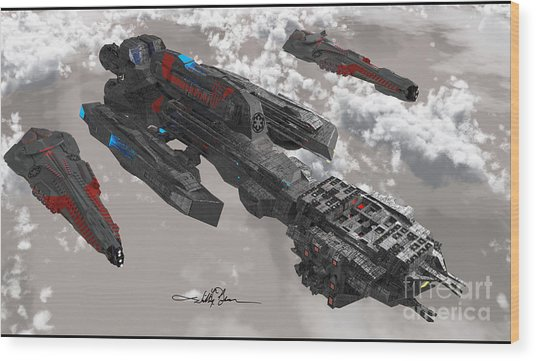 The New Imperial Fleet Wood Print