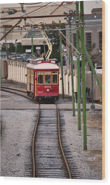 The New Orleans 2011 Wood Print