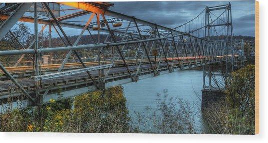 The Newell Bridge Wood Print