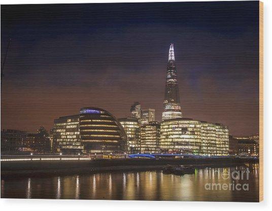 The Night Shard Wood Print by Donald Davis