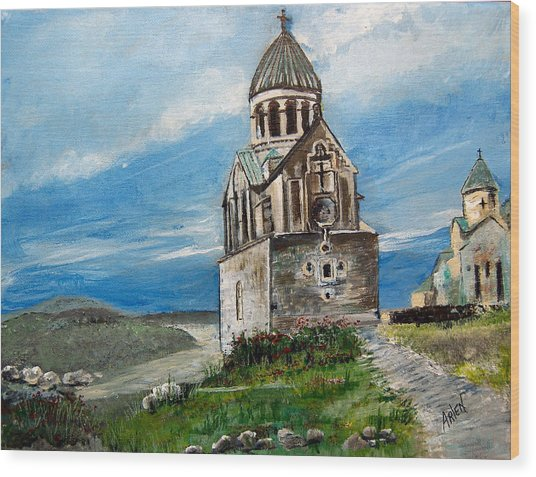 The Noravank Monastery Wood Print