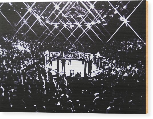 The Octagon Wood Print