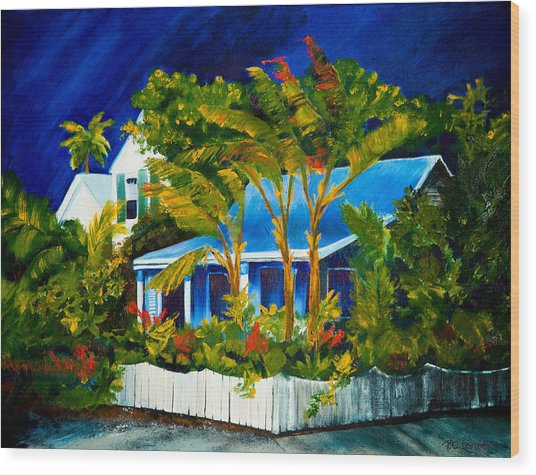 The Old Conch House Wood Print
