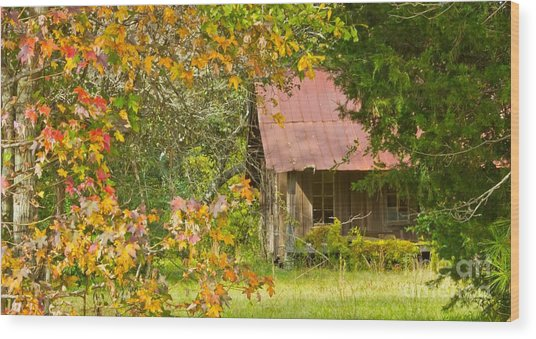 The Old Homestead 3 Wood Print