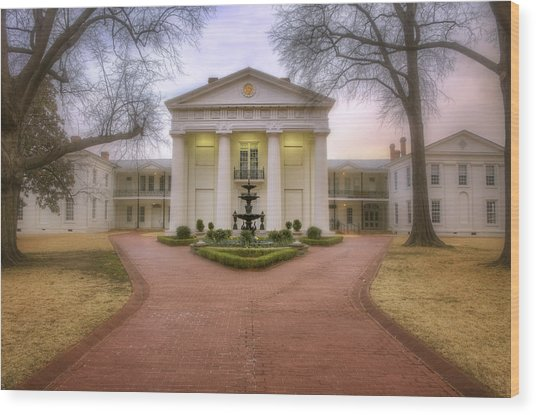The Old State House - Little Rock - Arkansas Wood Print