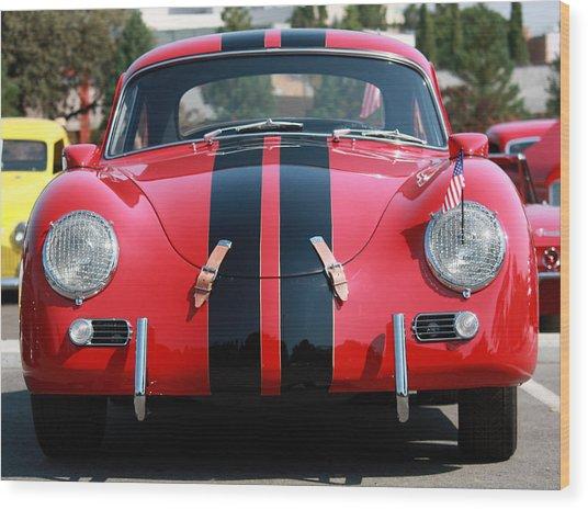 The Outlaw 356 Porsche Wood Print