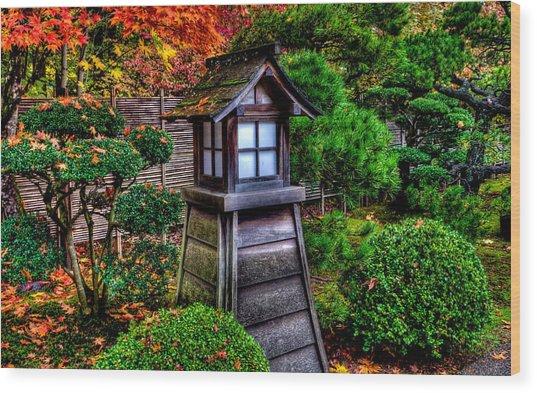 The Pagoda  Wood Print