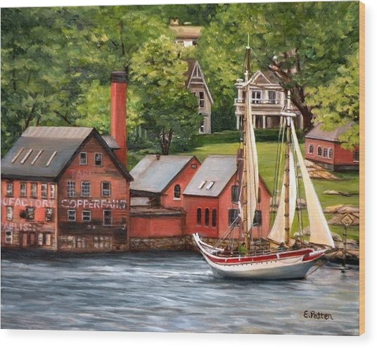 The Paint Factory And The Ardelle Wood Print