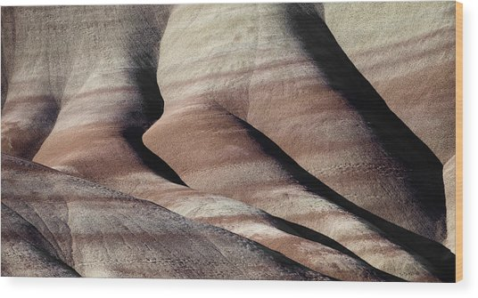 The Painted Hills 2 Wood Print