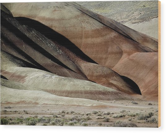 The Painted Hills 3 Wood Print