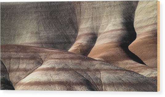 The Painted Hills 4 Wood Print