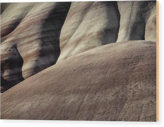 The Painted Hills 5 Wood Print