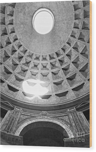 The Pantheon - Rome - Italy Wood Print