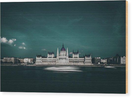 The Parliament Wood Print