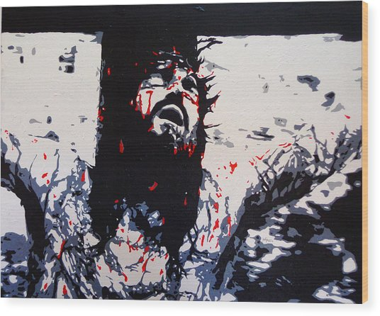 The Passion Wood Print