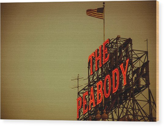 The Peabody Wood Print