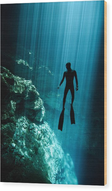 The Phantom Wood Print by One ocean One breath