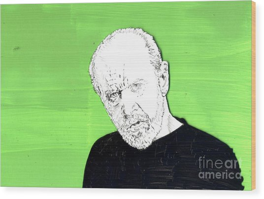 the Priest on Green Wood Print