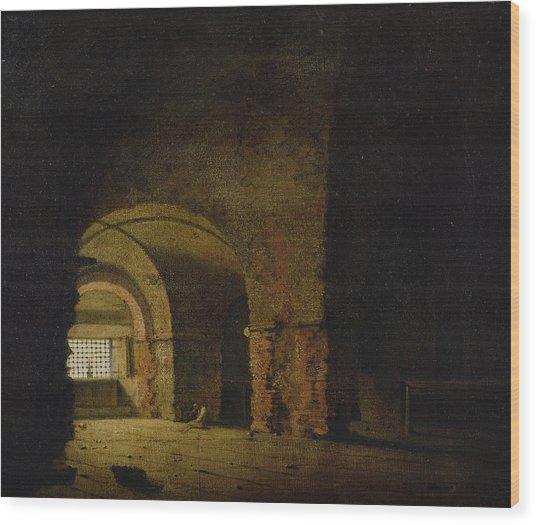 The Prisoner, C.1787-90 Oil On Canvas Wood Print