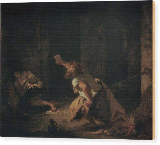 The Prisoner Of Chillon Wood Print