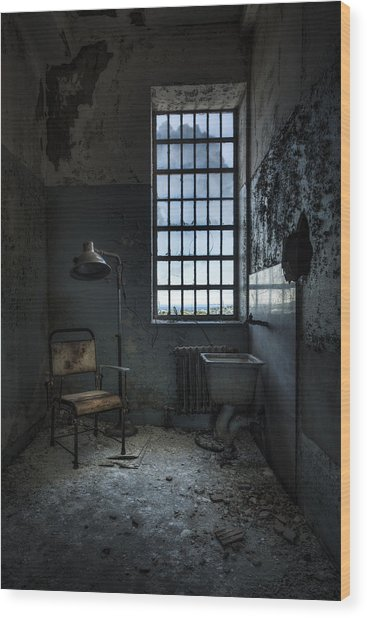 The Private Room - Abandoned Asylum Wood Print