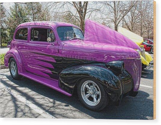 The Purple Wood Print