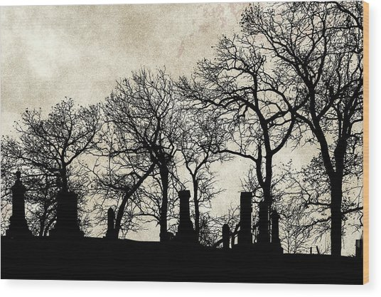 The Quiet Place Wood Print